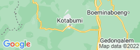 Kotabumi map
